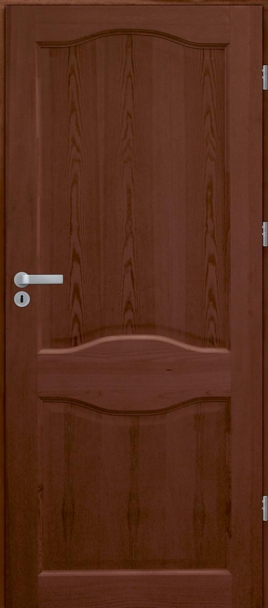 Drzwi sosnowe wewnętrzne WZ 06 pełne