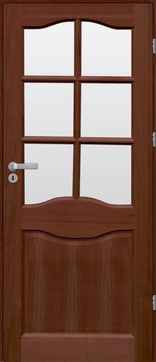 Drzwi sosnowe wewnętrzne WZ 06 pokojowe