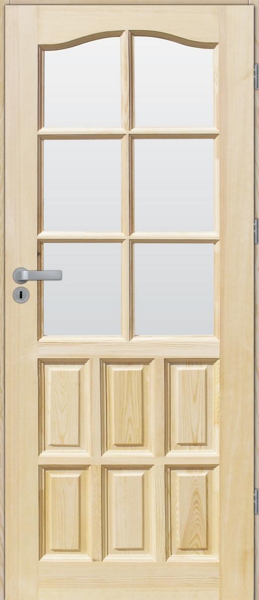 Drzwi sosnowe wewnętrzne STANDARD pokojowe