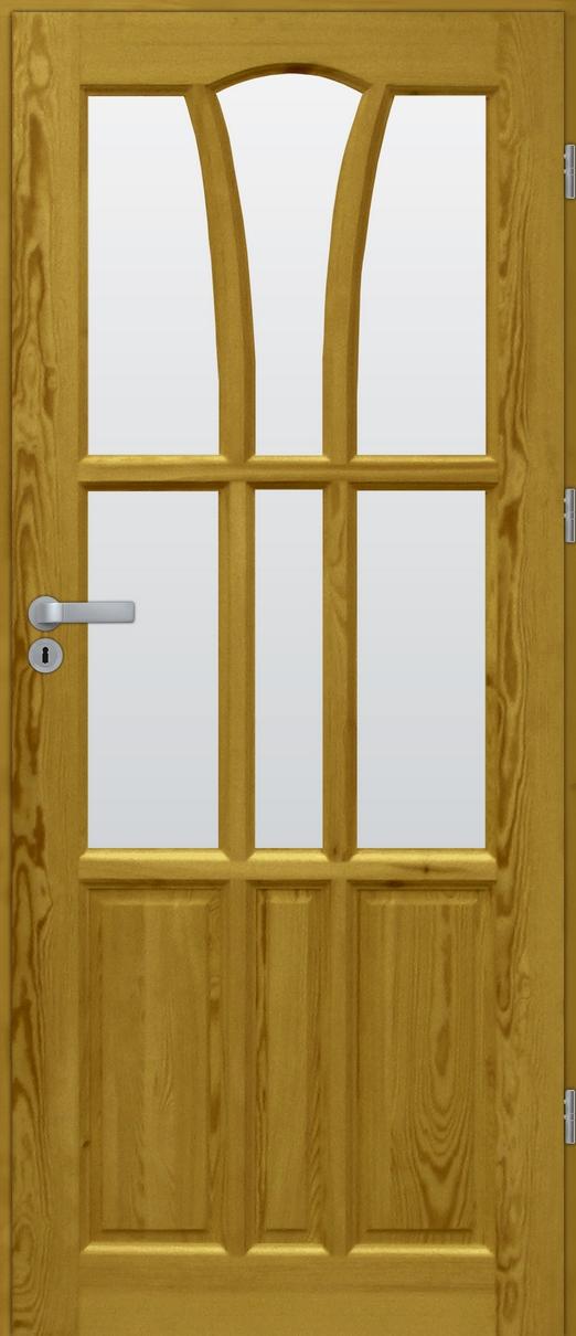 Drzwi sosnowe wewnętrzne DELTA pokojowe
