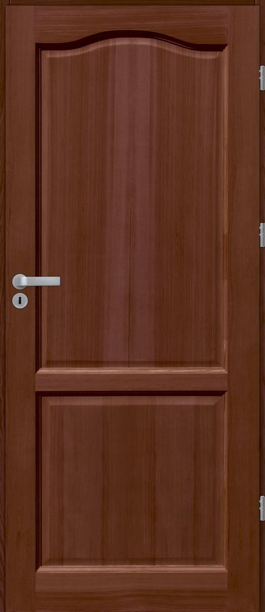 Drzwi sosnowe wewnętrzne DG X pełne