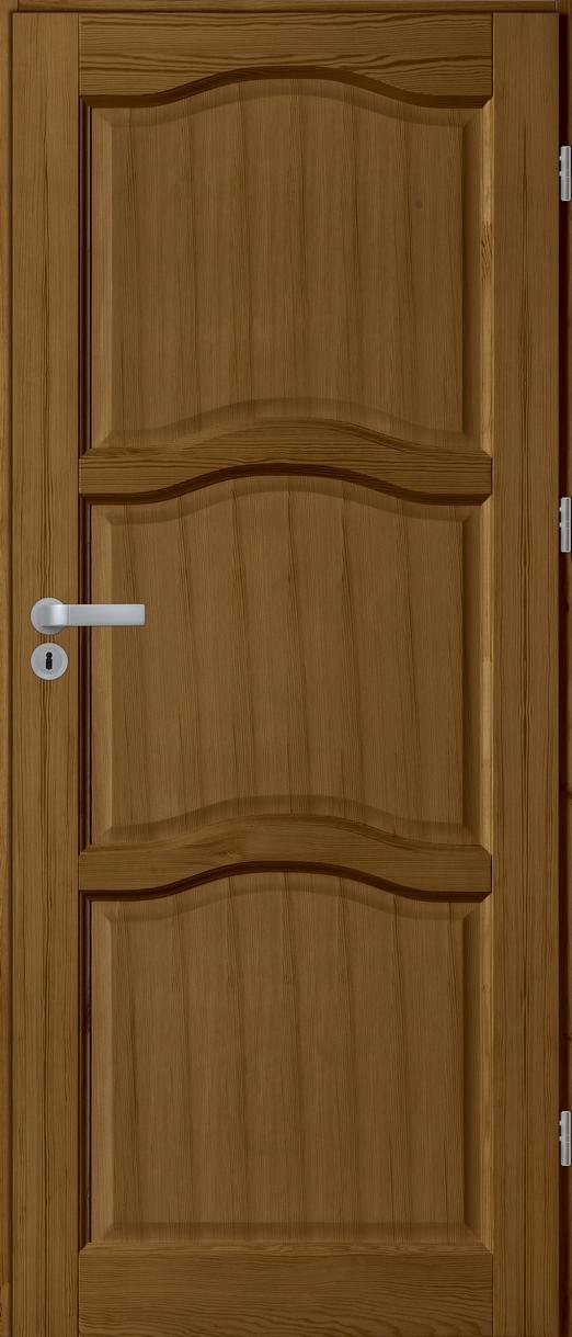 Drzwi sosnowe wewnętrzne HUGO pełne