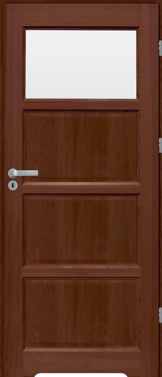 Drzwi sosnowe wewnętrzne S łazienkowe