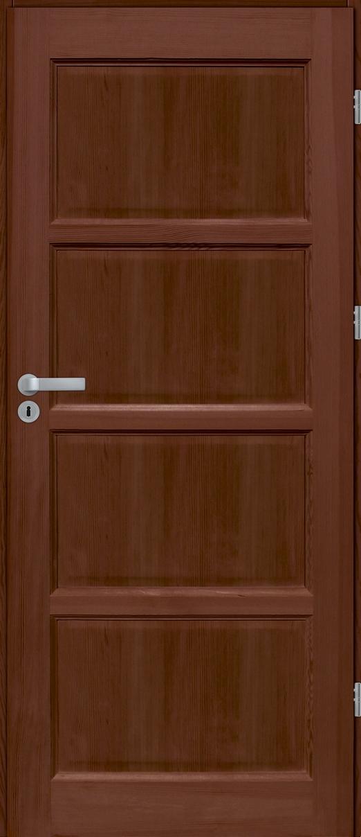 Drzwi sosnowe wewnętrzne S pełne