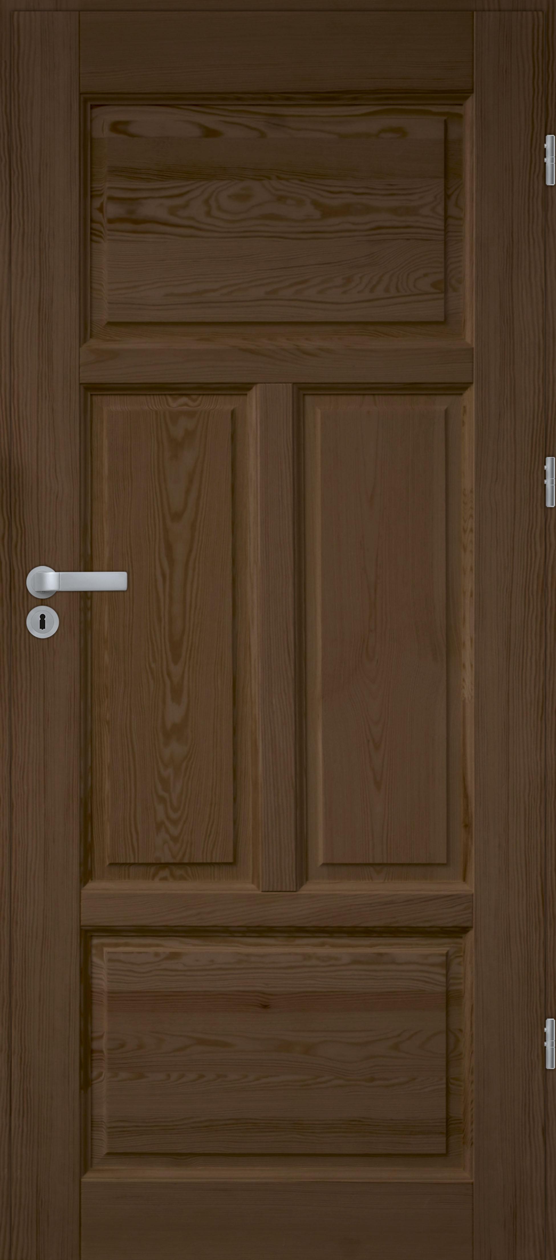 Drzwi sosnowe wewnętrzne WZ 04 pełne