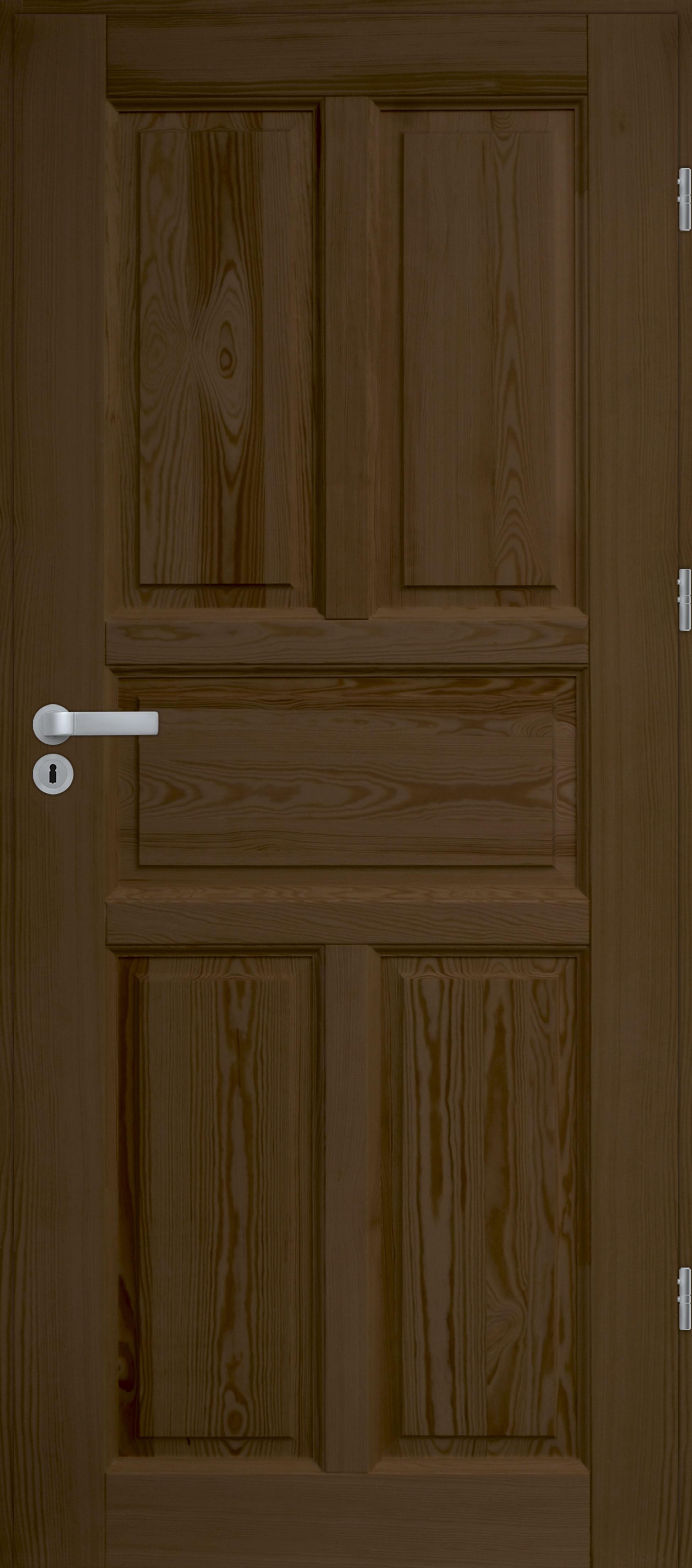 Drzwi sosnowe wewnętrzne WZ 05 pełne