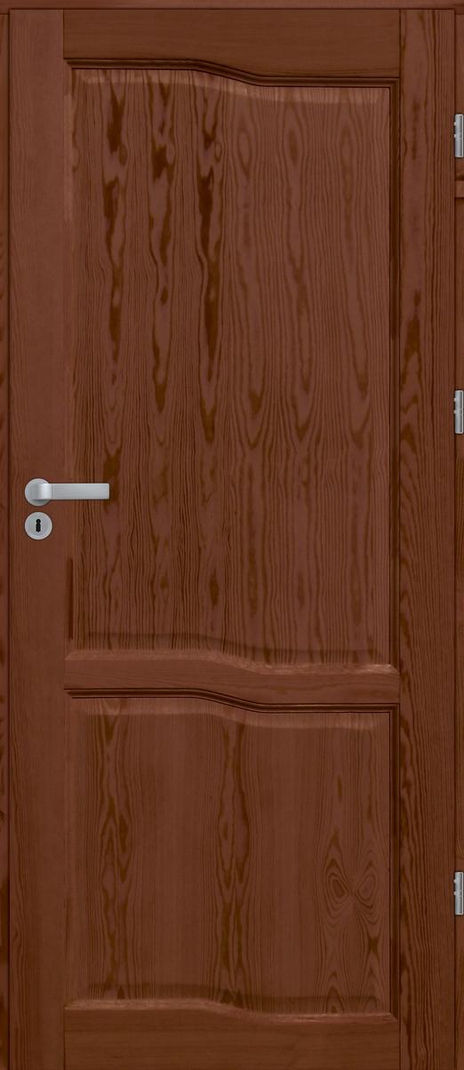 Drzwi sosnowe wewnętrzne WZ09 pełne