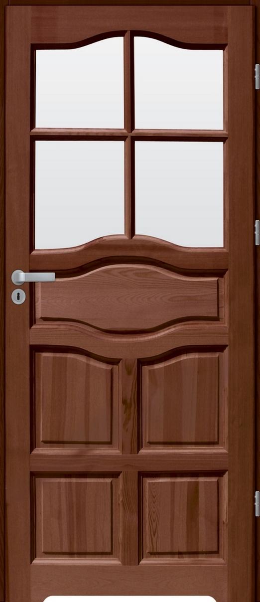 Drzwi sosnowe wewnętrzne WZ96 łazienkowe