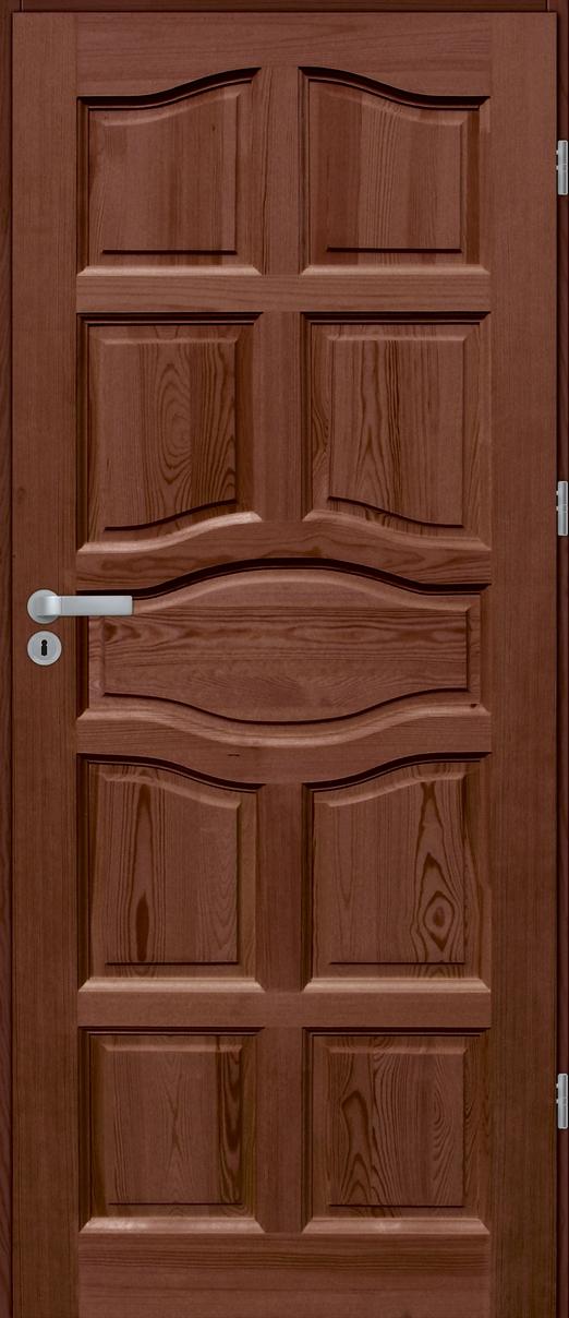 Drzwi sosnowe wewnętrzne WZ96 pełne