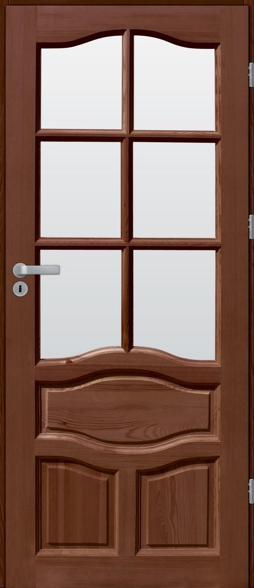 Drzwi sosnowe wewnętrzne WZ96 pokojowe