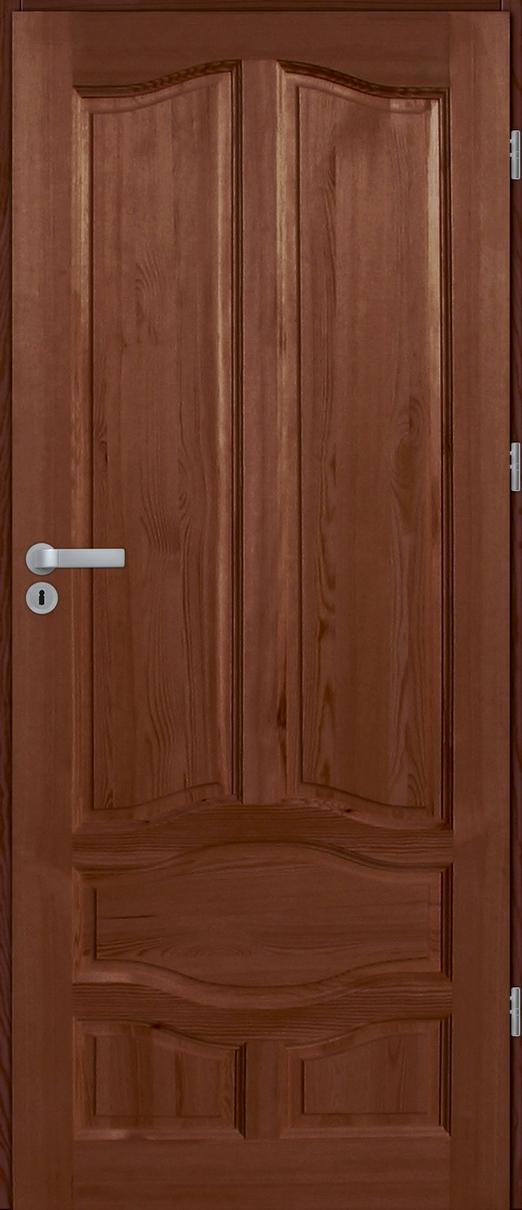 Drzwi sosnowe wewnętrzne WZ96XL pełne