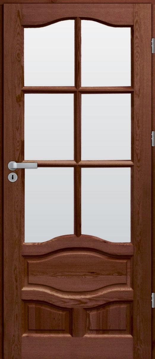 Drzwi sosnowe wewnętrzne WZ96XL pokojowe