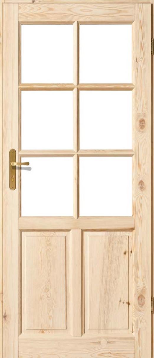 Drzwi sosnowe wewnętrzne ZD pokojowe