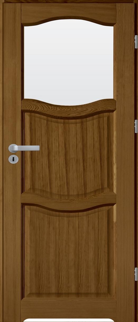 FIGO łazienkowe drzwi sosnowe wewnętrzne