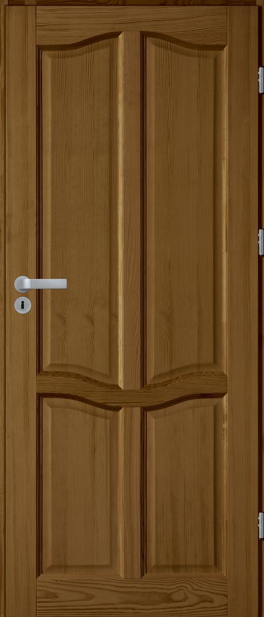FIGO PLUS pełne drzwi sosnowe wewnętrzne
