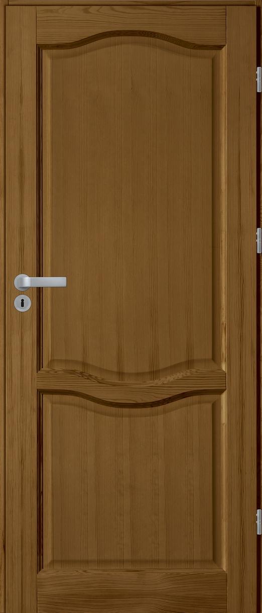 FIGO pełne drzwi sosnowe wewnętrzne