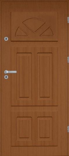 drzwi ocieplane DG III pełne