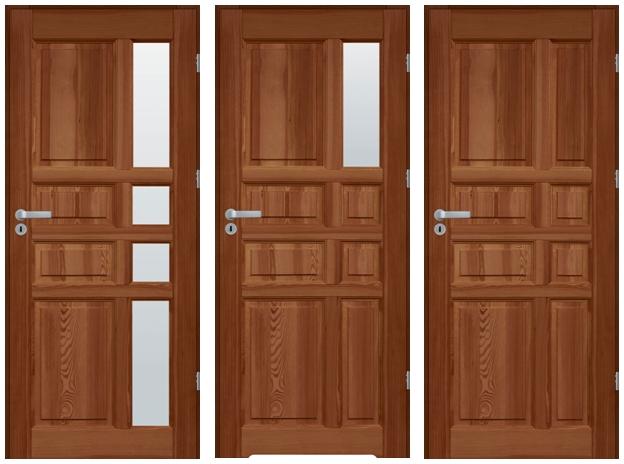 drzwi sosnowe WZ 41