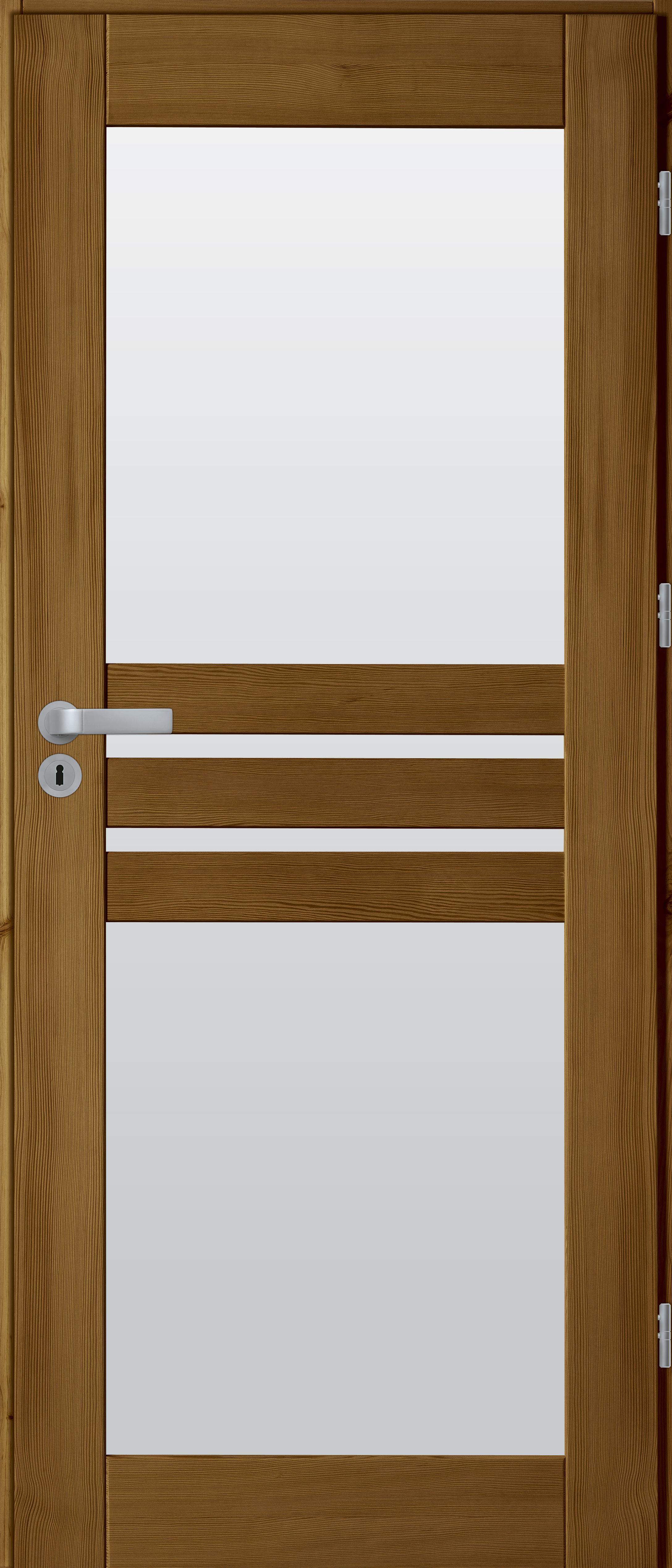 drzwi sosnowe WZ 14 2 szyby