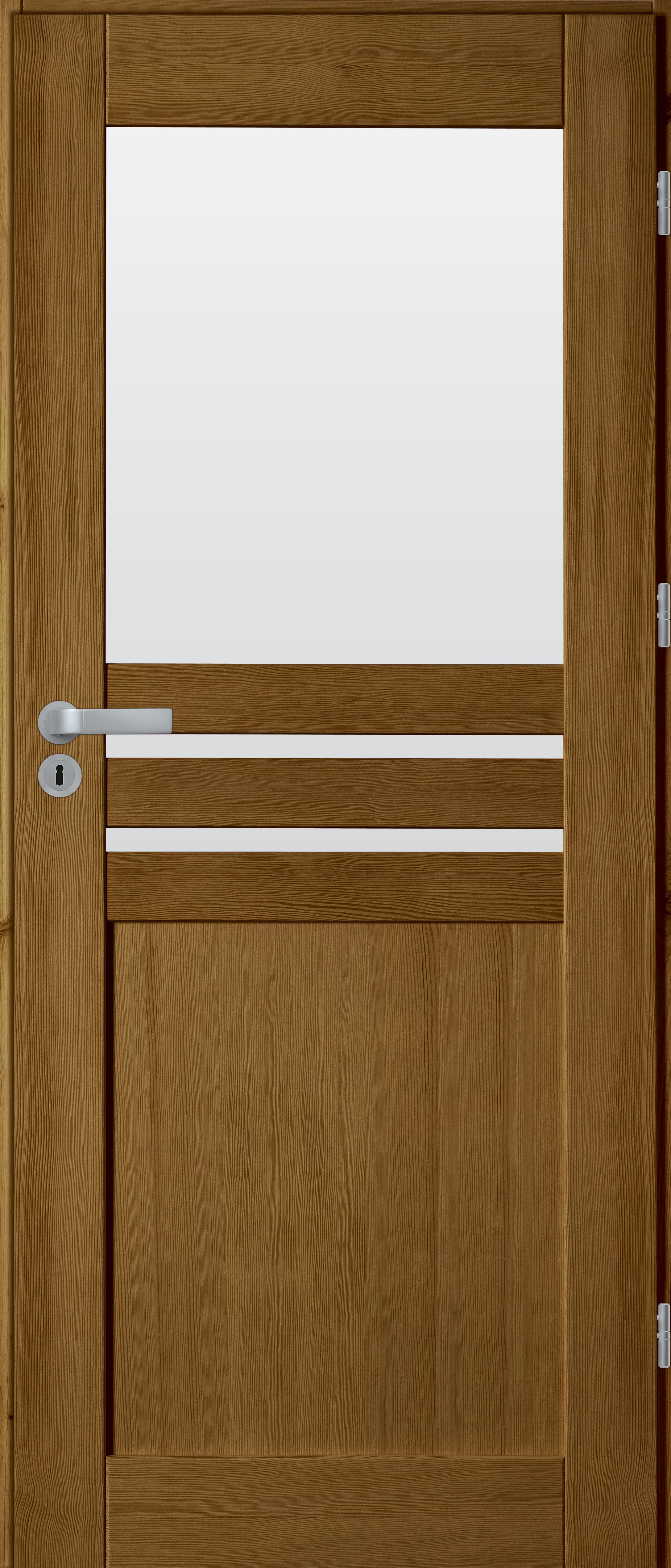 drzwi sosnowe WZ 14 1 szyba