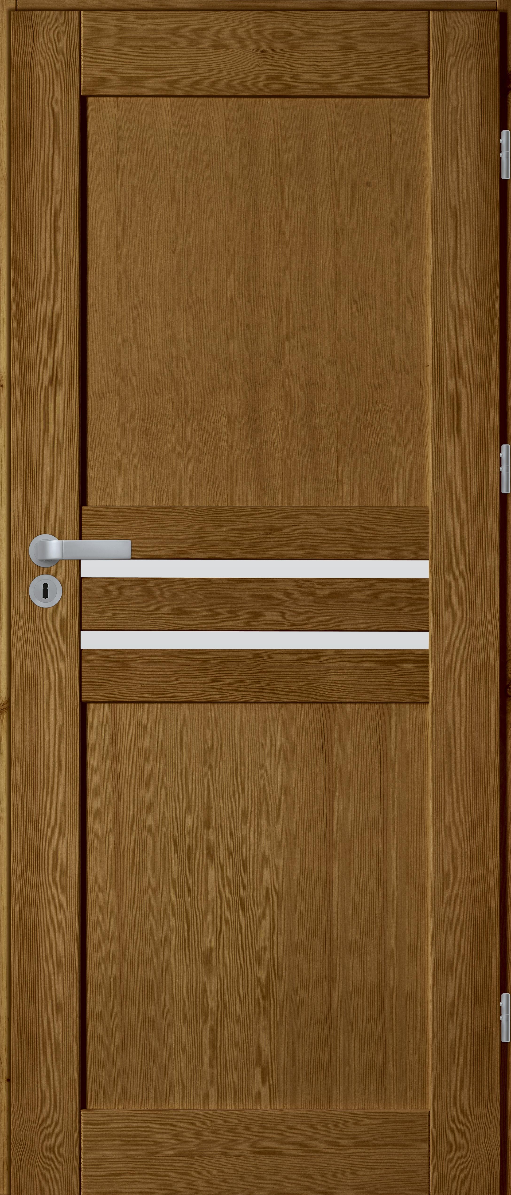 drzwi sosnowe WZ 14 świetlik