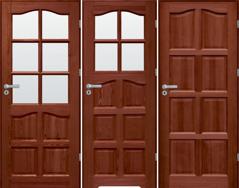 drzwi sosnowe SL