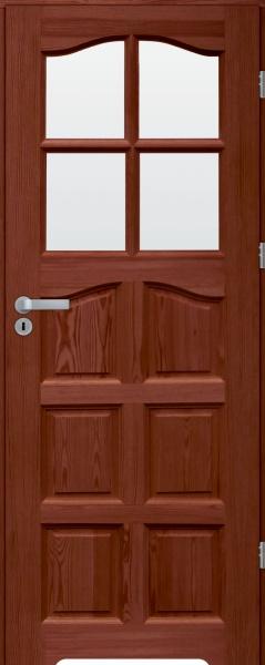 drzwi sosnowe lazienkowe SL WC