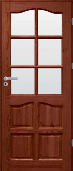 drzwi sosnowe pokojowe SL
